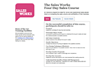 Sales Works training programs